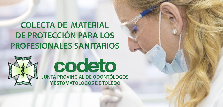CODETO organiza una colecta de material de protección para enviarlo al SESCAM