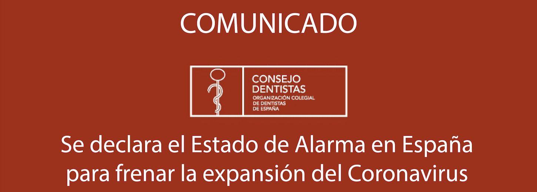 Se declara el Estado de Alarma en España para frenar la expansión del coronavirus