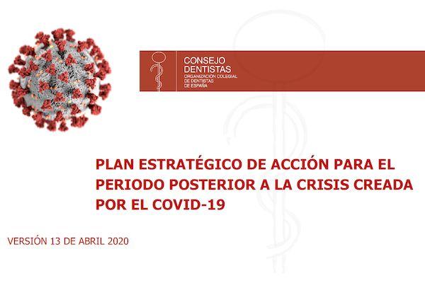 Plan estratégico de acción para el periodo posterior a la crisis creada por el COVID-19